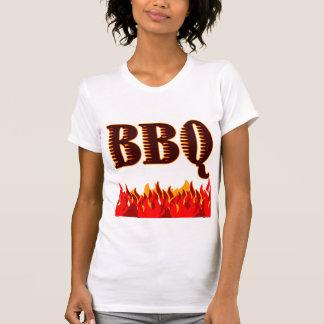 Camiseta O vermelho arde dizer do CHURRASCO