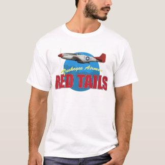 Camiseta O vermelho ata aviadores de Tuskegee