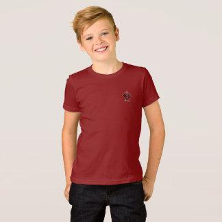 Camiseta O vermelho do arando do calcinador do tribo caçoa