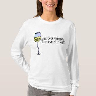 Camiseta O vinho melhora…