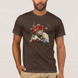 Camiseta O vintage ostenta o corredor do jogador do