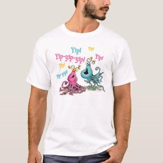 Camiseta O vintage Yip-Yips