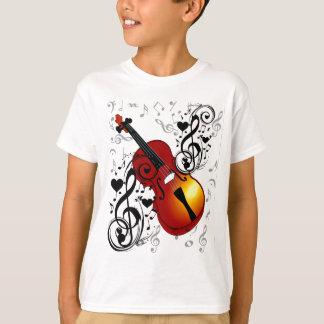 Camiseta O violinista, balança o House_