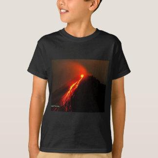 Camiseta O vulcão gosta do AMOR em meu coração