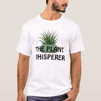 Camiseta O Whisperer da planta