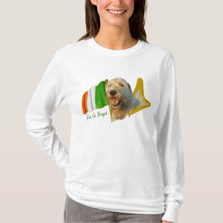 Camiseta O Wolfhound irlandês Erin vai Bragh