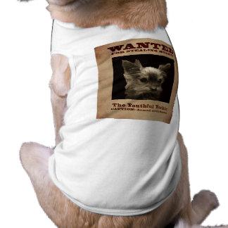 Camiseta O Yorkie jovem