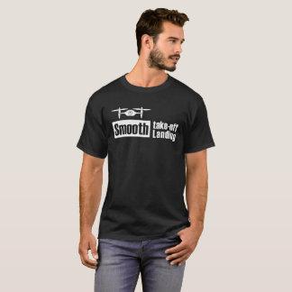 Camiseta O zangão liso descola v1 de aterragem liso