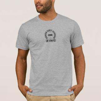 Camiseta O zinco Deeds não palavras