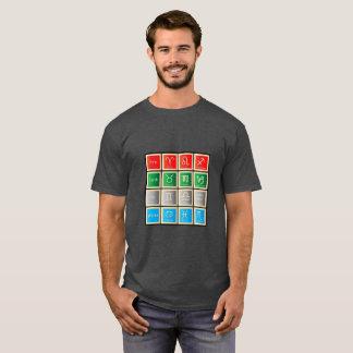 Camiseta O zodíaco assina sinais da água do t-shirt