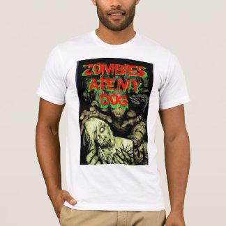 Camiseta o zombi, ZOMBIS COMEU MEU   CÃO, ZOMBIS COMEU MEU