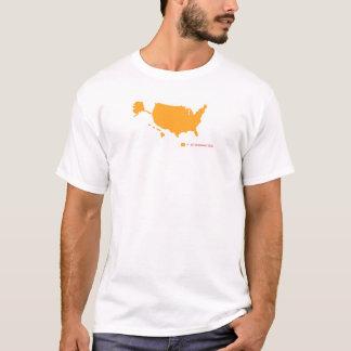 Camiseta ø Zona da alteração
