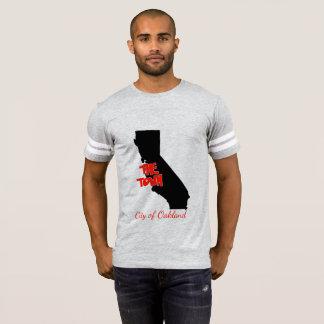 "Camiseta Oakland ""t-shirt do futebol do Golden State da"