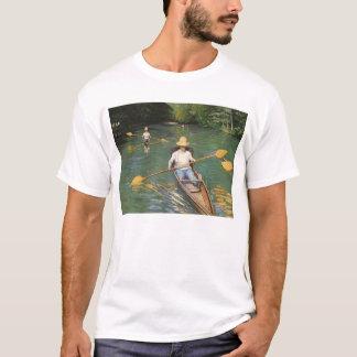 Camiseta Oarsmen por Gustave Caillebotte, belas artes do