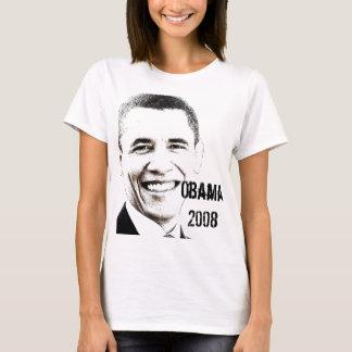 Camiseta Obama '08 com Web site