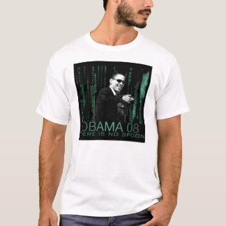 Camiseta Obama 08: Não há nenhuma colher