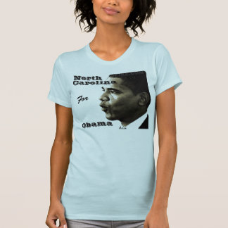 Camiseta Obama, norte, Carolina, para, Obama -