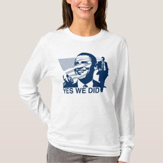 Camiseta Obama sim nós fizemos o t-shirt