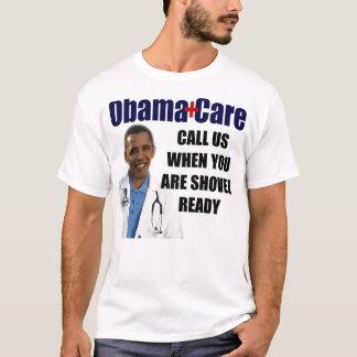 Camiseta ObamaCare: Pá pronta