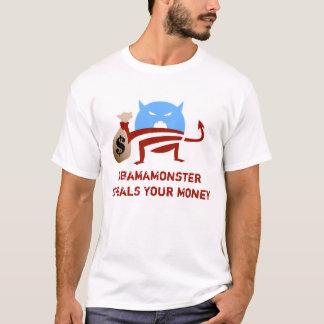 Camiseta ObamaMonster rouba seu dinheiro