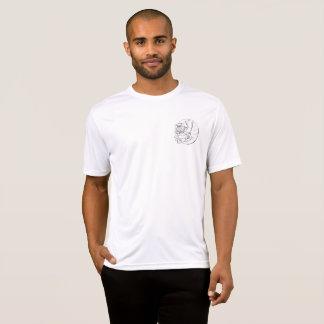 Camiseta Obcecado com o T do concorrente do Esporte-Tek dos