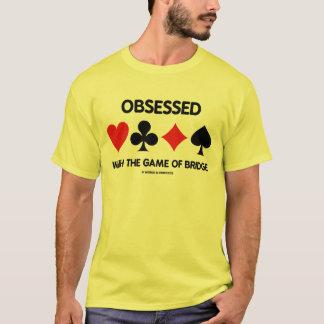 Camiseta Obcecado com The Game da ponte (ternos do cartão)