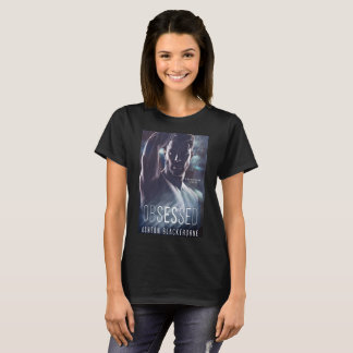 Camiseta Obcecado pelo Tshirt da capa do livro de Ashton