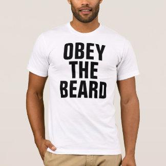 Camiseta Obedeça a barba