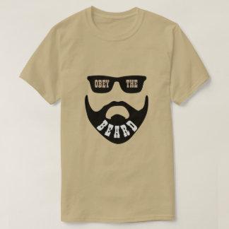 "Camiseta Obedeça a barba Brown ""olhos """