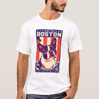 Camiseta Obedeça a Boston Terrier!