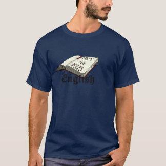 Camiseta Obedeça as regras