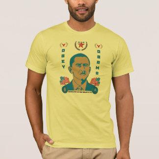 Camiseta Obedeça o camarada Obama Propaganda T-shirt -
