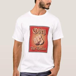 Camiseta Obedeça o Decider