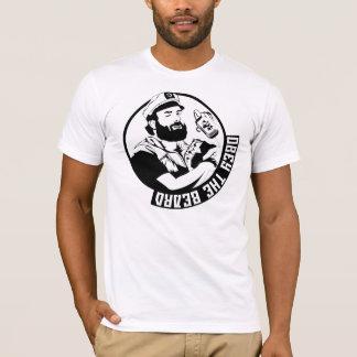 Camiseta Obedeça o T dos homens da barba