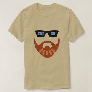 """Camiseta Obedeça olhos azuis """" da barba (do vermelho) os """""""
