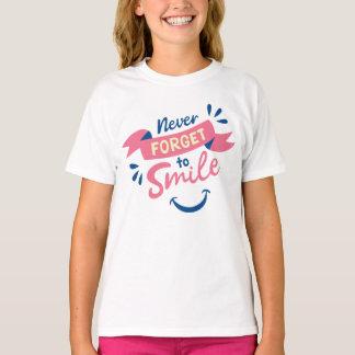 Camiseta Objetivos inspiradores dos sonhos da gratitude da