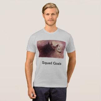 Camiseta Objetivos Swaggwolf77 do pelotão