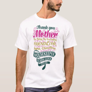 Camiseta Obrigado serir de mãe