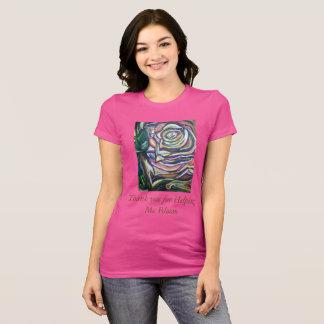 Camiseta Obrigado T de Bloooming