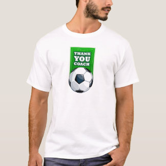 Camiseta obrigado treinador do futebol