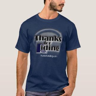 Camiseta Obrigados para o t-shirt de montada