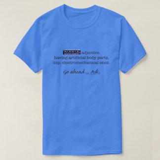 Camiseta Obscuridade Bionic de Def dos homens