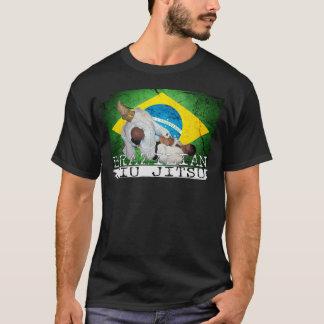 Camiseta Obscuridade brasileira do t-shirt de Jiu Jitsu