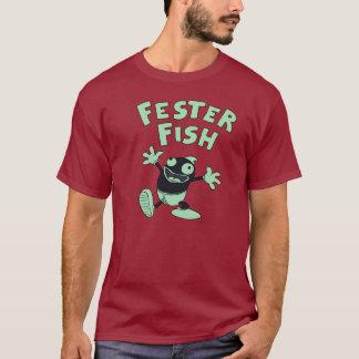 Camiseta Obscuridade da pose do Fester