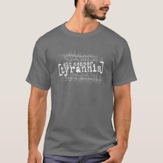 Camiseta Obscuridade de III%er SIC Semper Tyrannis