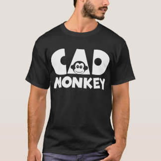 Camiseta Obscuridade do macaco do Cad