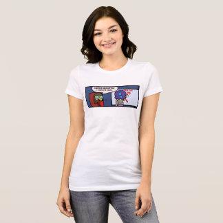 Camiseta Observação do professor da surpresa