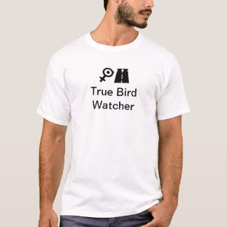 Camiseta Observador de pássaro verdadeiro