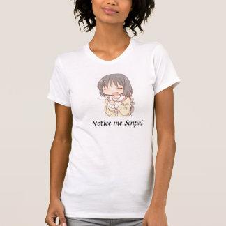 Camiseta Observe-me Senpai
