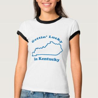 Camiseta Obtenção afortunado em Kentucky